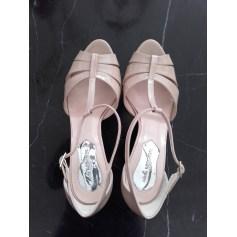 Sandales à talons ATELIER MERCADAL Nude
