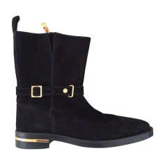 Boots VERSACE Black