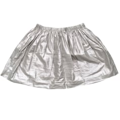 Mini Skirt MAJE Silver