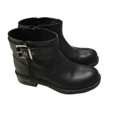 Flat Ankle Boots K KARL LAGERFELD Black