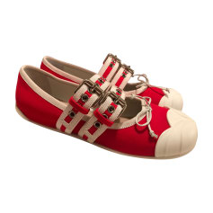 Sneakers MIU MIU Rot, bordeauxrot