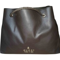 Sac XL en cuir GUCCI Marron