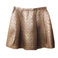 Mini Skirt TARA JARMON Silver
