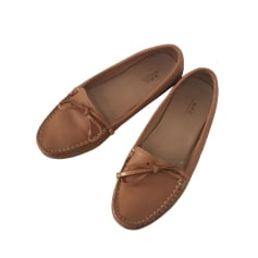 Mocassins A.P.C. Marron Caramel