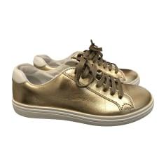 Sneakers CHURCH'S Golden, bronze, copper