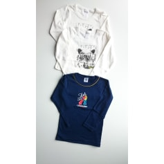 T-shirt PETIT BATEAU White, off-white, ecru