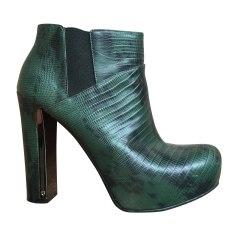 Stivaletti, stivali bassi con tacchi GUESS Verde