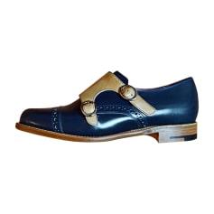 Mocassins BARKER Bleu, bleu marine, bleu turquoise