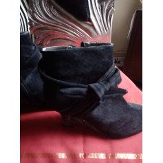 Bottines & low boots à compensés BEE FLY Noir