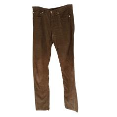 Jeans droit A.P.C. Marron