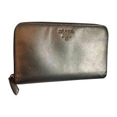 Wallet PRADA Golden, bronze, copper