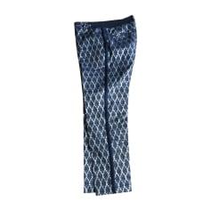 Pantalon droit PAUL & JOE Bleu, bleu marine, bleu turquoise