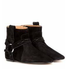 Flat Ankle Boots ISABEL MARANT ETOILE Black