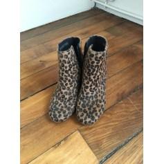 Bottines & low boots à talons PIMKIE Imprimés animaliers