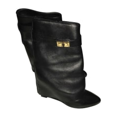 Wedge Ankle Boots GIVENCHY Black