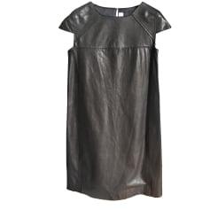 Midi-Kleid GOLDEN GOOSE Schwarz