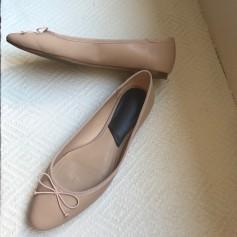 Ballet Flats MANGO Beige, camel