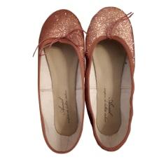 Chaussures de danse  ANNIEL Rose, fuschia, vieux rose