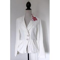 Blazer, veste tailleur AVENTURES DES TOILES Blanc, blanc cassé, écru