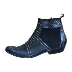 Bottines & low boots plates ANINE BING Noir