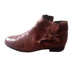 Bottines & low boots plates ATELIER DO SAPATO Marron
