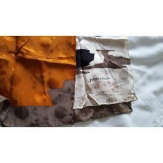 Silk Scarf PIERRE BALMAIN Gray, charcoal