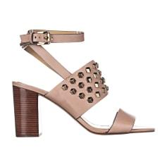 Sandales à talons MICHAEL KORS Beige, camel
