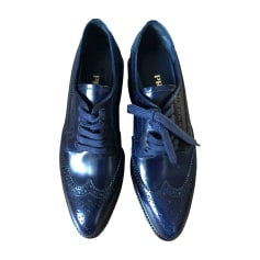Schnürschuhe PRADA Blau, marineblau, türkisblau