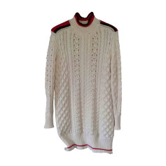 Sweater Dress ISABEL MARANT White, off-white, ecru