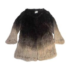 Fur Jackets MAX & MOI Brown