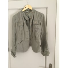 Zipped Jacket STEPHANEL Khaki