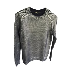 Sweater MAJE Golden, bronze, copper