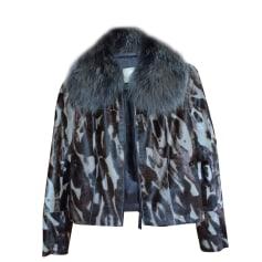 Leather Jacket LONGCHAMP Beige, camel