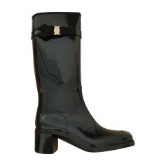 Rain Boots SALVATORE FERRAGAMO Black