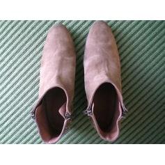 Bottines & low boots à talons SWILDENS Beige, camel