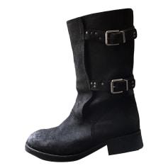 Biker Ankle Boots DIESEL Black
