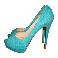Peep-Toe Pumps CHRISTIAN LOUBOUTIN Very Prive Green