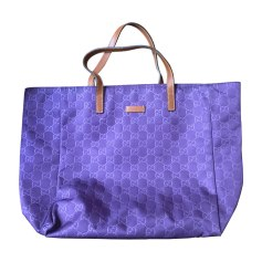 Non-Leather Handbag GUCCI Purple, mauve, lavender