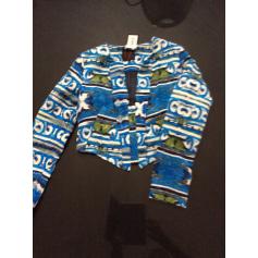 Blazer, veste tailleur AVENTURES DES TOILES Bleu, bleu marine, bleu turquoise