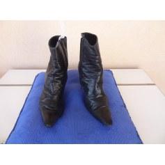Bottines & low boots à talons 0039 ITALY Noir