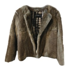 Fur Jackets ANTIK BATIK Beige, camel