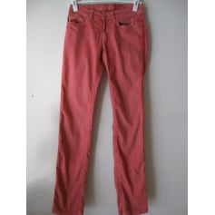 Jeans slim MADAME A PARIS Rose, fuschia, vieux rose