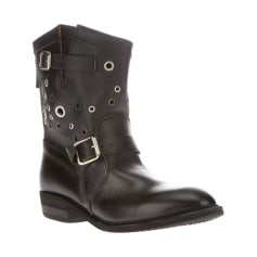 Biker Boots GOLDEN GOOSE Black
