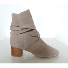 Bottines & low boots à talons TOPSHOP Beige, camel