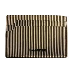 Card Case LANVIN Black