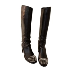 Riding Boots CHRISTIAN LOUBOUTIN Black