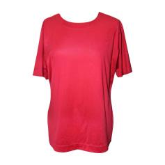Top, tee-shirt YVES SAINT LAURENT Rouge, bordeaux