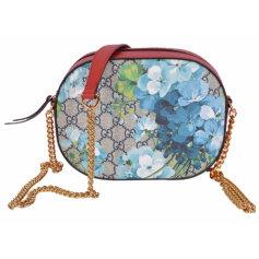 Leather Shoulder Bag GUCCI Multicolor