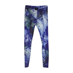Skinny Pants, Cigarette Pants ALEXANDER MCQUEEN Blue, navy, turquoise