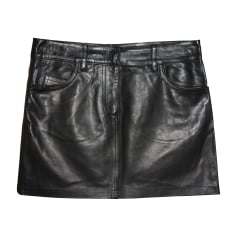Mini Skirt ALEXANDER MCQUEEN Black